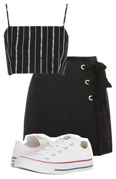 """""""Untitled #101"""" by sofiaosousa on Polyvore featuring Topshop and Converse"""