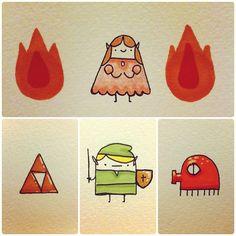 Andy Helms #Zelda art