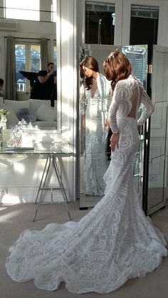 glam wedding dress...