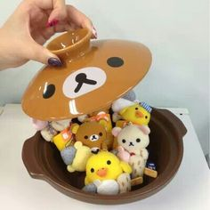 A oden bowl full of Rilakkumasssss!!!! ^^