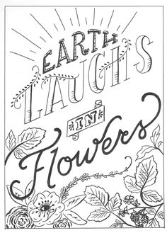 earth laughs in flowers by Karly Plarisan - Skillshare