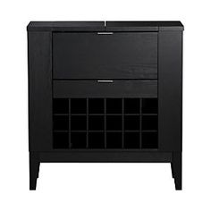 Parker Spirits Ebony Cabinet.  Where all my Personalities are kept.