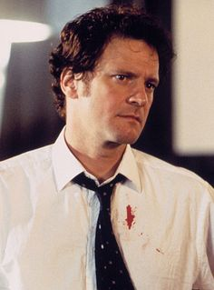 Colin Firth as Mark Darcy in 'Bridget Jones's Diary'