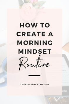 Keep yourself motivated and focused with this simple morning mindset routine. Source by theblissfulmind fashion mornings Mindset Quotes Positive, Positive Affirmations, Positive Phrases, Motivation, Entrepreneur, Self Development, Personal Development, Success Mindset, Self Improvement Tips
