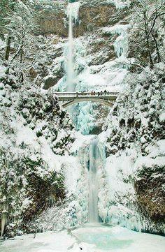 Multonamah Falls, Oregon ☆