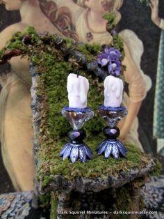 Fairy Magic Candle set dollhouse miniature in 1/12 scale