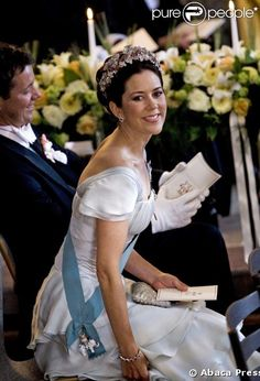 Crown Princess Mary and Crown Prince Frederik.