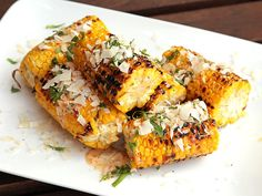 Recipe: Grilled Corn with Spicy Chili Mayo, Coconut, and Fish Sauce #recipe #corn #grilling