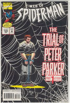 Title: Web Of Spider-Man | Year: 1985 | Publisher: Marvel | Number: 126 | Print: 1 | Type: Regular | TitleId: 11f736ac-5495-40c0-8d49-98b9608736e7