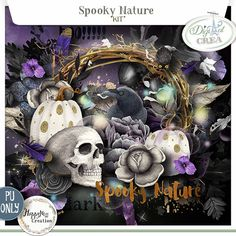 Spooky Nature by Happyness {KIT]}  http://digital-crea.fr/shop/index.php?main_page=product_info&cPath=365&products_id=25606