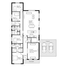 49 by 41 House Design Bermuda Porter Davis Homes small house