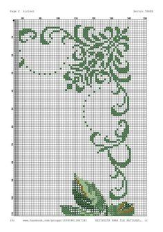 Cross Stitch Boarders, Cross Stitch Patterns, Rico Design, Crochet Cross, Blackwork, Cross Stitch Embroidery, Needlework, Projects To Try, Sewing