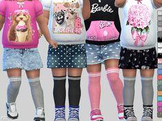 -For toddler girls Found in TSR Category 'Sims 4 Female Leggings'