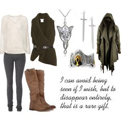 """Aragorn"" by favourite-fictional-fashions on Polyvore"