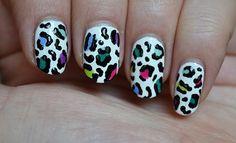 How to: Kleurrijke panter nail art