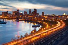St.Paul, Minnesota has some great eclectic neighborhoods
