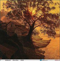 Jian Chong Min Amazing Landscape Painting