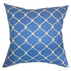 The Pillow Collection Hamar Geometric Pillow - Delft - P18-D-42277-DELFT-C100