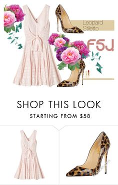 """Fsjshoes.com"" by gabyidc ❤ liked on Polyvore featuring Rebecca Taylor, PUR and fsjshoes"
