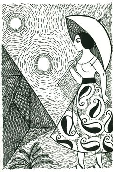 The Gorgeous Art of Norah Borges, Jorge Luis Borges's Younger Sister | Brain Pickings