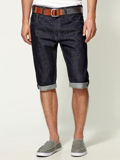 Levi's 520 shorts. Freakin' love these!