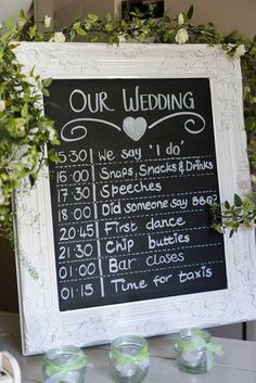 The most popular signs for your big day.