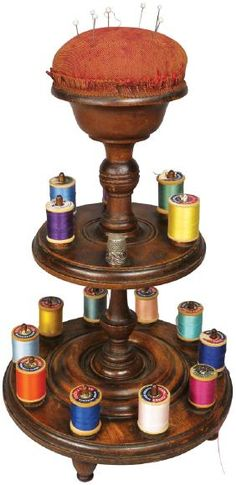 Nineteenth Century Sewing Reel Stand