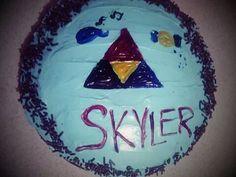 Skylers 9th bday cake Zelda