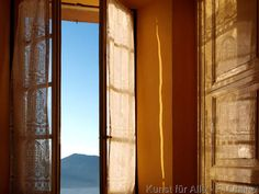 Gardine, Hotelzimmer, Lago Maggiore