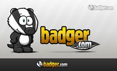 Mascot and logo for Badger.com by inkredibl