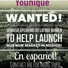 #spanishspeaking #latina #beYOUnique #3dfiberlashesbyyounique #doingwhatilove #mexico #launch #newmarket #opportunidad #opportunities #mascara #makeupaddict #lipstick #lashes #eyes #bella #belleza #preguntenme #dinero  This is a wonderful opportunity to be a part of launching our products in Mexico.....don't miss your chance to get in on something this big!!! ASK me how!