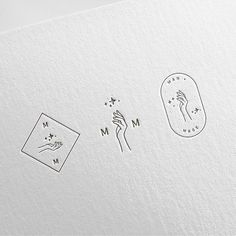 7c8d6db05 Submark designs for Man + Mage  tannienicholastang ✨  Regram via   stylishcreativebranding) Ilustração