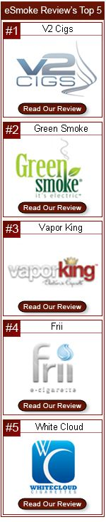 eSmoke Reviews has updated its Top 5 ecigs based on how you rated them. Check out e-smoke-reviews.com to see more on our top 5 ecigs
