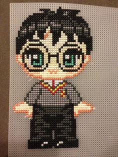 Harry Potter cross stitch (Will be a magnet when I cut it out)