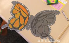 Creating Monarch Butterflies