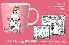 61 Moomin mug Snorkmaiden Moomin Mugs, Childhood, Make It Yourself, Tableware, How To Make, Den, History, Blog, Products