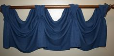 Victory Swag Pole mounted Valance by KayandL on Etsy, $75.00
