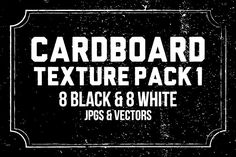 Cardboard Texture Pack 1 by Graphic Boutique on @creativemarket