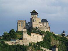 Slovakia, Trenčín - Castle