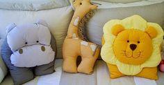 Momento fofura...   Encantadoras almofadas para o quarto das crianças.   Pingo de Gente     ♀♂