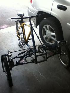 Picture of spyder-like reverse trike