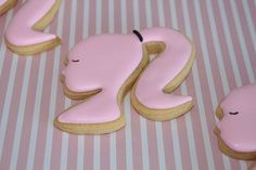 Doll face cookies by Miss Biscuit