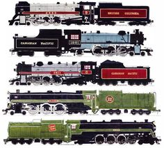 """I Love Steam"" Engine Drawings"