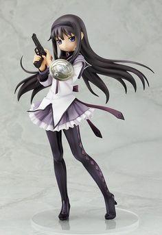Akemi Homura 1/8 PVC Figurine. Puella Magi Madoka Magica.