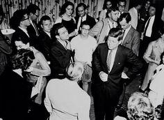 1960. 5 Mai. West Virginia State College. Jfk campaigning