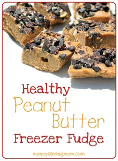 This homemade Peanut Butter Fudge is amazingly good -- and it's packed with nutritious ingredients.