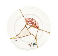 Buy the Plate Kintsugi from Seletti, on Made in Design - 48 to 72 hours delivery.