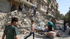Image copyright                  Reuters                  Image caption                                      Some 2,700 people have been killed or injured in rebel-held Aleppo in the past month, monitors say                                A Russian plan for rebels to withdraw from the Syrian city of Aleppo has been rejected by a powerful jihadist group. Jabhat F