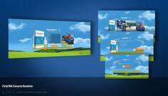 Nasodrem, diseño y desarrollo portal web de concurso.