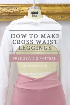 Diy Sewing Projects, Sewing Tutorials, Sewing Tips, Sewing Pants, Sewing Clothes, Sewing Patterns Free, Free Sewing, Sewing Lessons, Sewing For Beginners